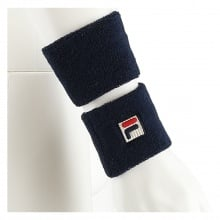 Fila Schweissband navy 2er