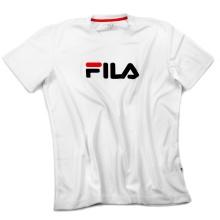 Fila Tshirt Logo weiss Herren