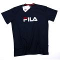 Fila Tshirt Logo navy/weiss Herren