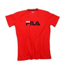 Fila Tshirt Logo rot/navy Herren