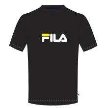 Fila Tshirt Logo schwarz/weiss Herren