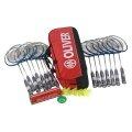 Oliver Schulsport Set II - 15x Strong 600, Racketbag, Bälle