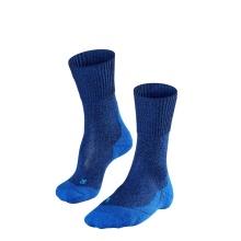 Falke Trekkingsocke TK1 Wool blau 1er Herren