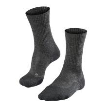 Falke Trekkingsocke TK2 Wool smog 1er Herren