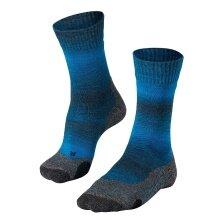 Falke Trekkingsocke TK2 TREND blau/grau Herren - 1 Paar