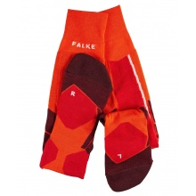 Falke Skisocke ST4 Wool orange/rot 1er Herren