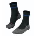 Falke Laufsocke RU4 (mittelstarke Polsterung) schwarz/blau Herren - 1 Paar
