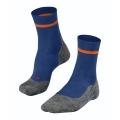 Falke Laufsocke RU4 (mittelstarke Polsterung) blau/orange Herren - 1 Paar