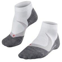 Falke RU4 Cool Short Socken weiss/grau Herren 1er