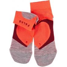 Falke Laufsocke RU4 Cool Short orange/rot Damen - 1 Paar