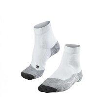 Falke Tennissocke TE2 Short (stabilisierend) weiss/grau Herren