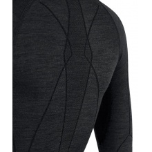 Falke Langarmshirt Wool Tech (Merinowolle) Unterwäsche schwarz Damen