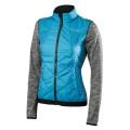 Falke Jacke hybrid blau/grau Damen (Größe XS)