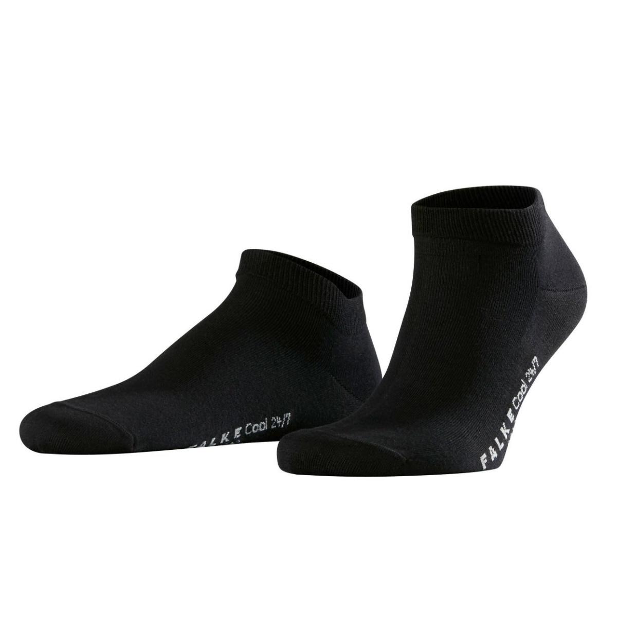 Falke Tagessocke Cool 247 Sneaker schwarz 1er Herren