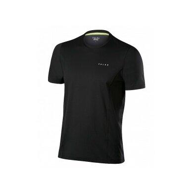 Falke Tshirt C-Neck schwarz Herren (Größe L+XL)