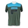 Fila Tshirt Tim 2017 grün/blau Herren