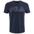 Fila Tshirt Ricki Logo (Baumwolle) navy Herren
