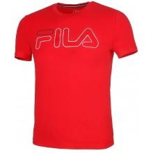 Fila Tshirt Ricki Logo (Baumwolle) rot Herren