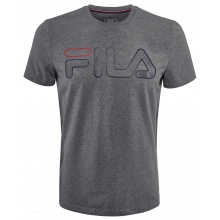 Fila Tshirt Ricki Logo (Baumwolle) grau Herren