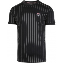 Fila Tennis Tshirt Stripes schwarz Herren