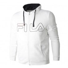 Fila Sweatjacke Willy weiss Herren