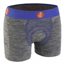 For Bicy Boxershort Urban Life 2018 grau melange/royal Herren