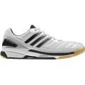 Adidas BT Feather weiss Badmintonschuhe Herren (Größe 40,5)
