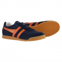 Gola Harrier Suede 2017 navy/orange Sneaker Herren