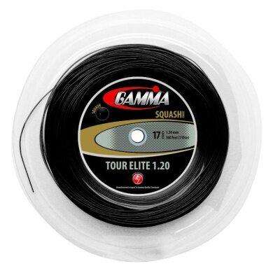 Gamma Live Wire Tour Elite Squash schwarz 110 Meter Rolle