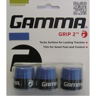 Gamma Grip 2 Overgrip 3er blau