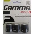 Gamma Grip 2 Overgrip 3er schwarz