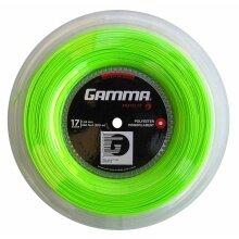 Gamma Tennissaite Moto (Haltbarkeit+Spin) limette 200m Rolle