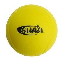 Gamma Stage 3 Schaumstoffball gelb einzeln