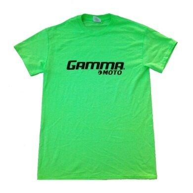 Gamma Tshirt Moto lime Herren