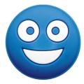 Gamma Schwingungsdämpfer Smiley blau