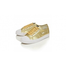 Gola Coaster Canvas metallic gold Sneaker Damen