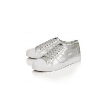 Gola Coaster Canvas metallic silber Sneaker Damen
