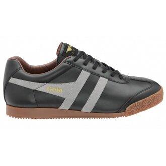Gola Harrier Leder schwarz Sneaker Herren