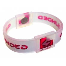 Grounded Armband transparent/pink small (Kinder)