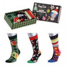 Happy Socks Tagessocke Crew Seize the Season Holiday Geschenkbox 3er