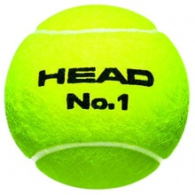 Head No. 1 DTB Tennisbälle 4er