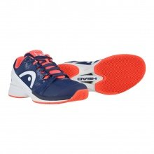 Head Nzzzo Pro Clay navy Tennisschuhe Damen