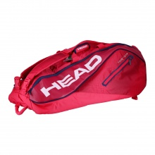 Head Racketbag Tour Team 12R Monstercombi 2019 rot/magenta