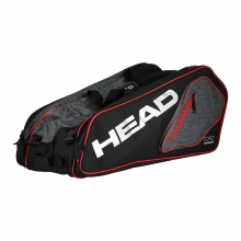 Head Racketbag Core 9R Supercombi 2018 schwarz/silber
