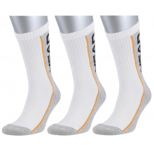 Head Tennissocken Stripe Crew weiss/grau Herren 3er