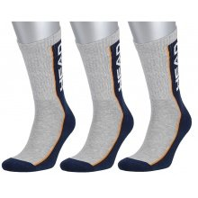 Head Tennissocken Stripe Crew navy/grau Herren 3er