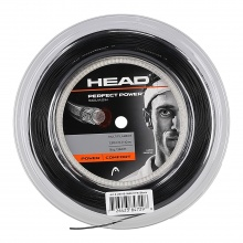 Head Perfect Power Squash schwarz 110 Meter Rolle