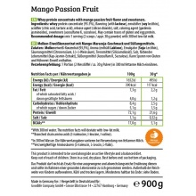 HEJ Natural Whey Protein Mango/Passionsfrucht 900g Dose