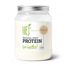 HEJ Natural Whey Protein Vanille 450g Dose