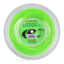 Solinco Tennissaite Hyper G (Haltbarkeit+Power) grün 200m Rolle